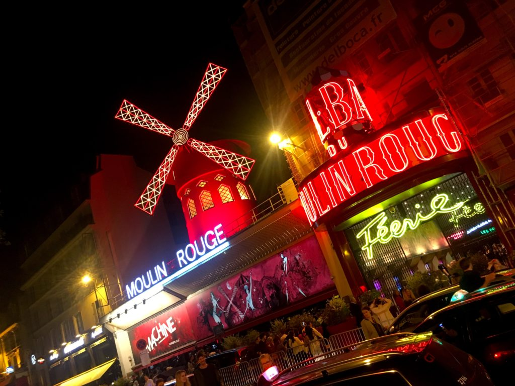 The Moulin Rouge isn't anything like the 2001 movie with Nicole Kidman, but still worth visiting if you enjoy cabaret.