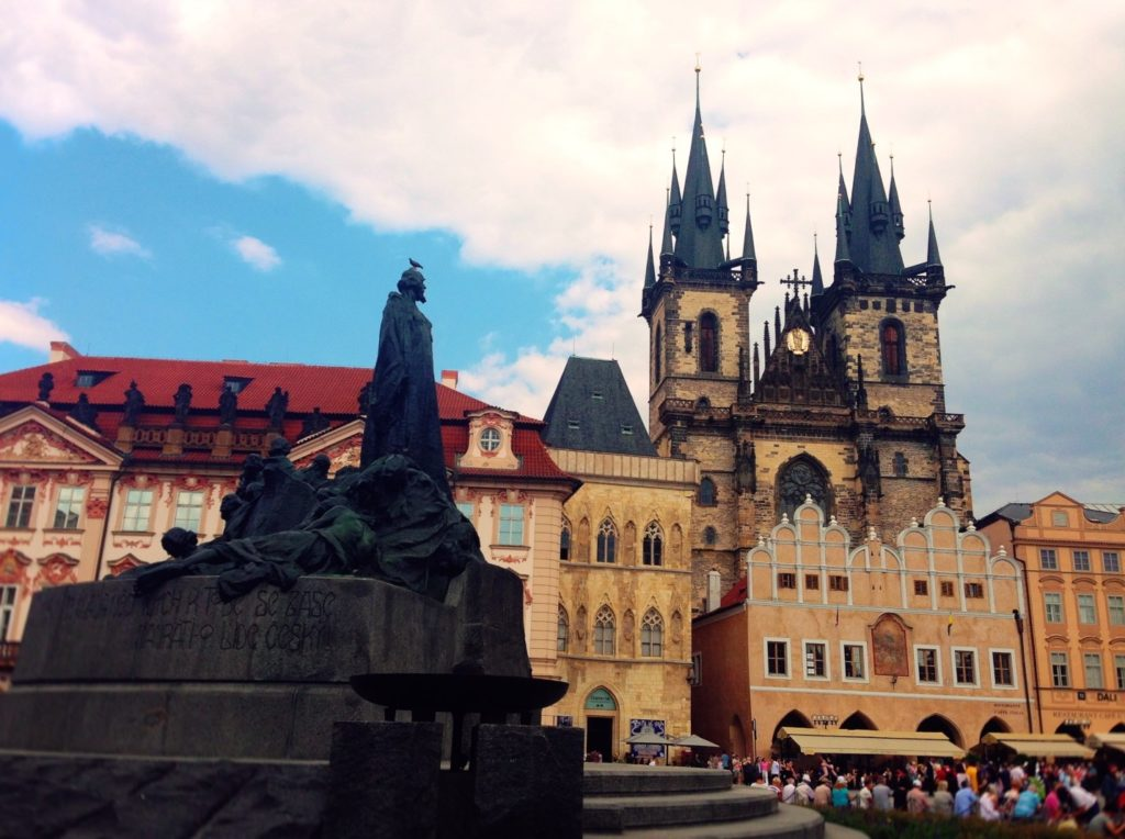 Czech Republic has all kinds of historical buildings, breweries, and churches to tour - and don't forget to relax at a beer spa when you're finished!