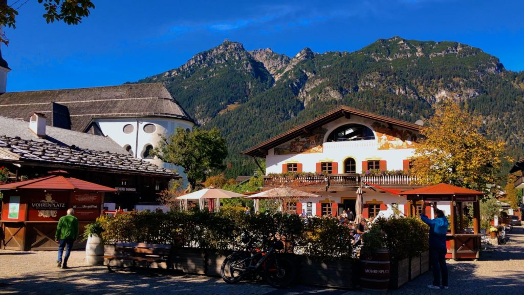 Garmisch-Partenkirchen is a small town in Bavaria with plenty of nature activities to do