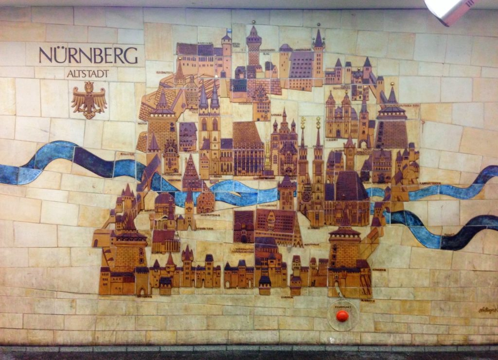 Nuremberg is the second largest city in Bavaria after Munich