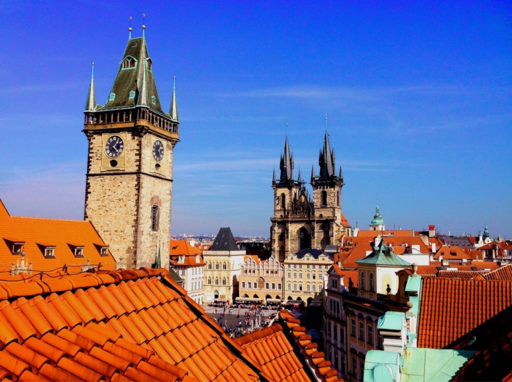 Prague was spared from most of the bombing during World War II. Visit these incredibly preserved structures!