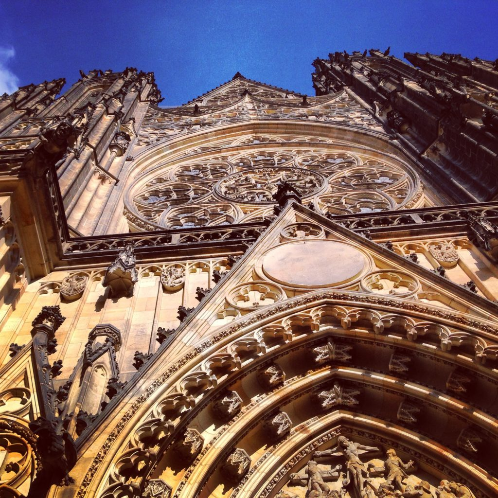 The gothic architecture in Prague is not to be missed!