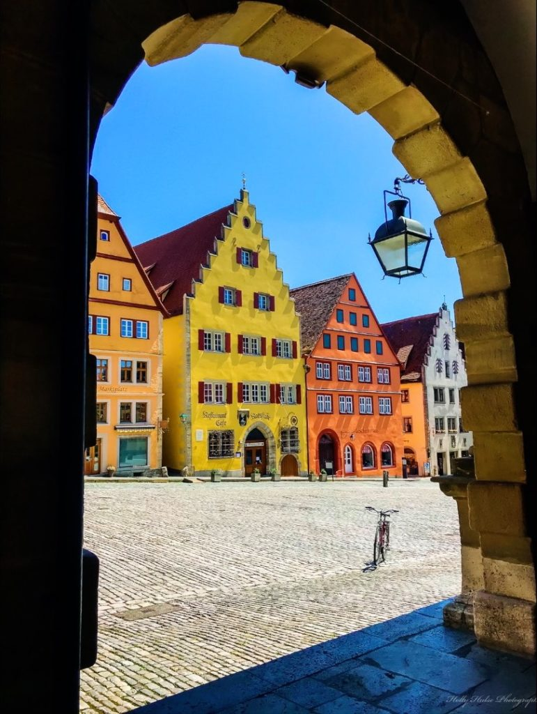 Walking through Rothenburg is like part of the Disney ride It's a Small World! Photo by Holly Hulse