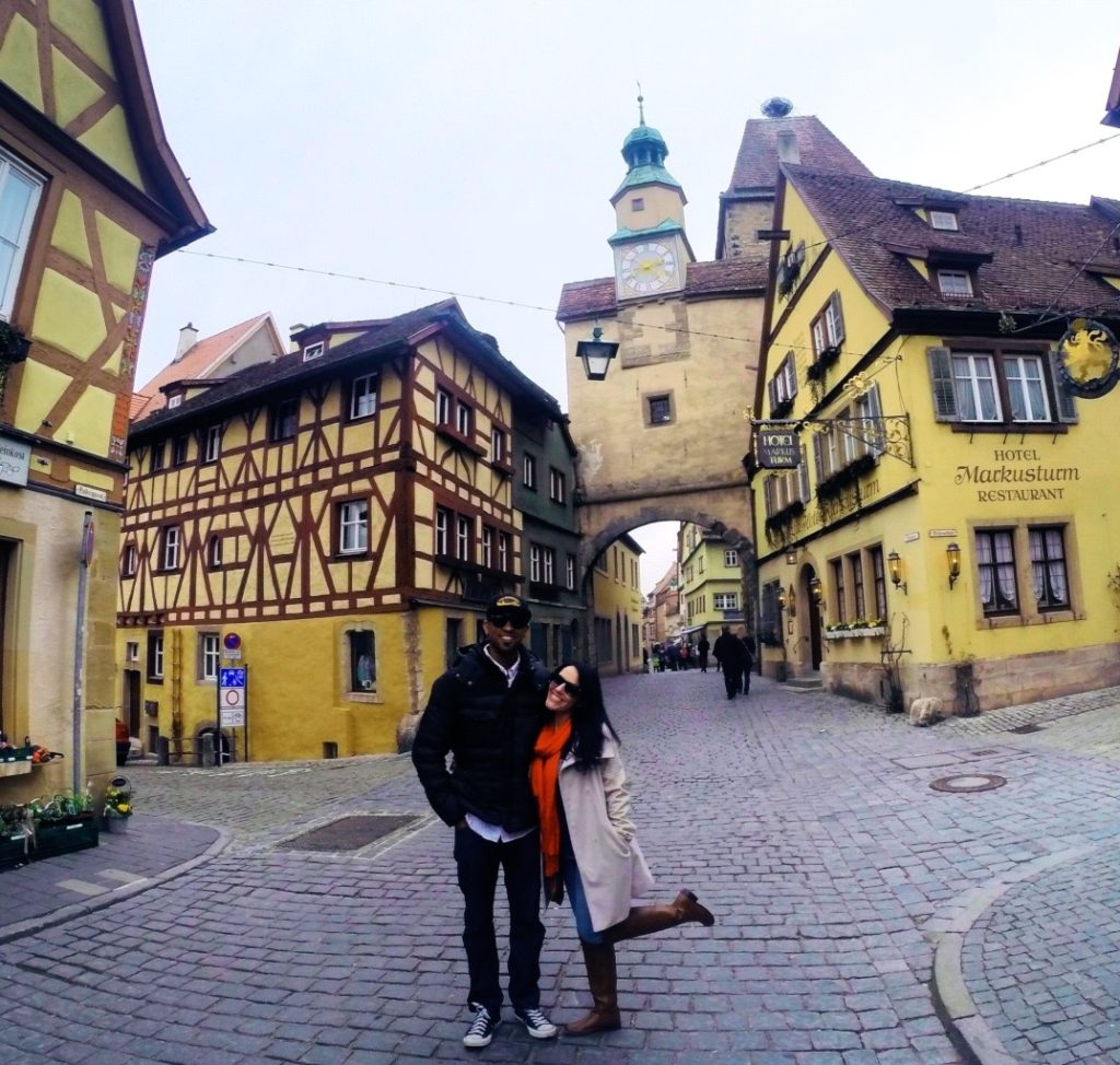 Rothenburg is one of the most beautiful German cities to visit. It's also one of the most well-preserved Medieval cities