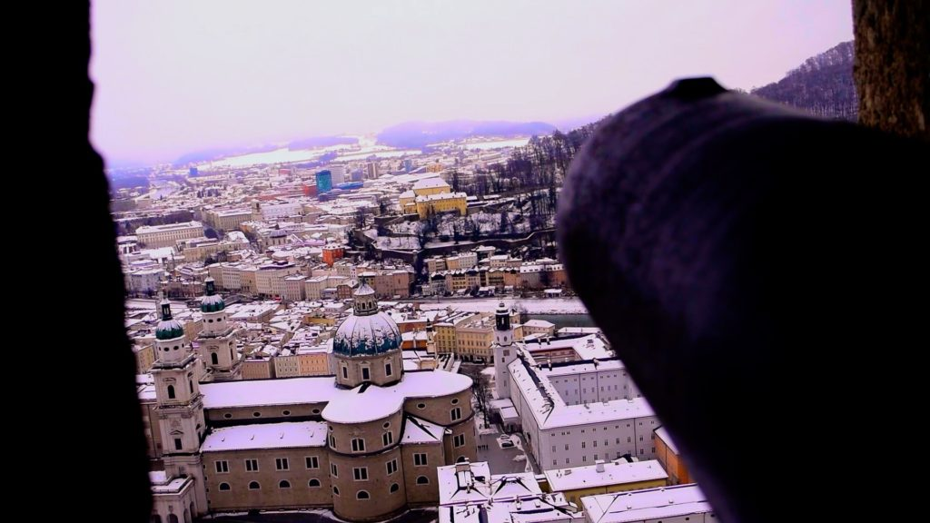Visit Fortress Hohensalzburg for a great view of the city!