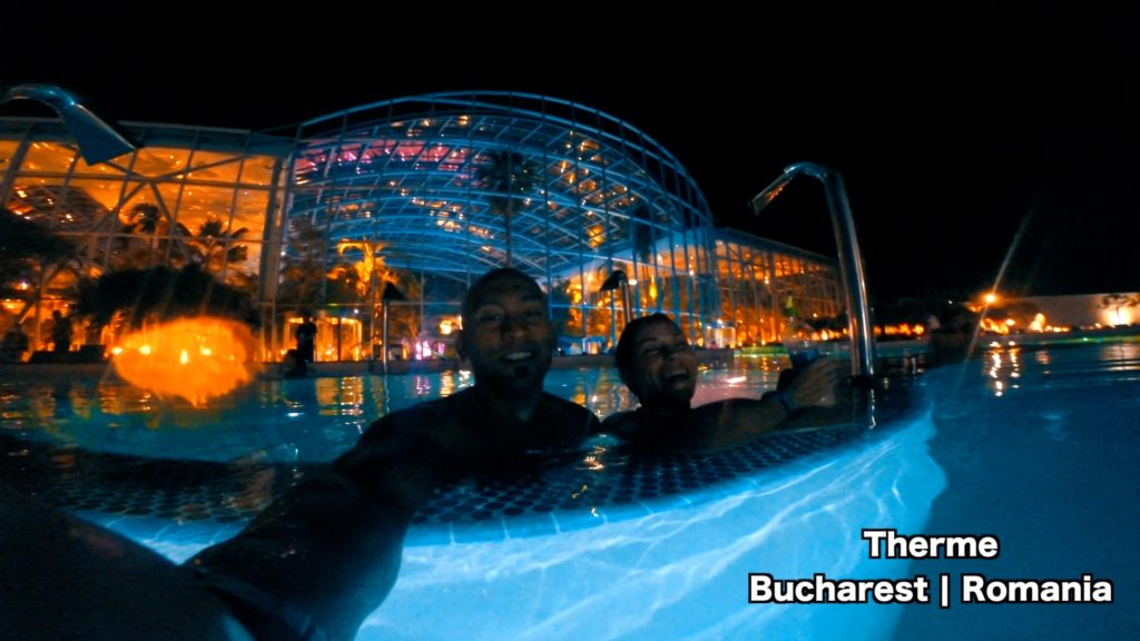 Spend all day and night at Therme Bucharest