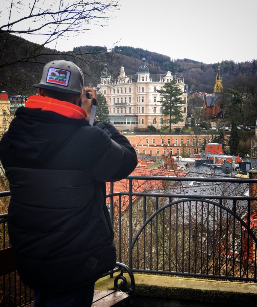 Karlovy Vary is a spa town in Czech Republic, but also has some amazing sights to see