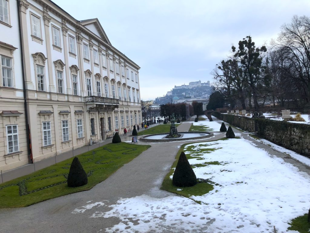 This Salzburg attraction became a temporary mayor's office after World War II. Definitely visit in the Spring to see the gardens!