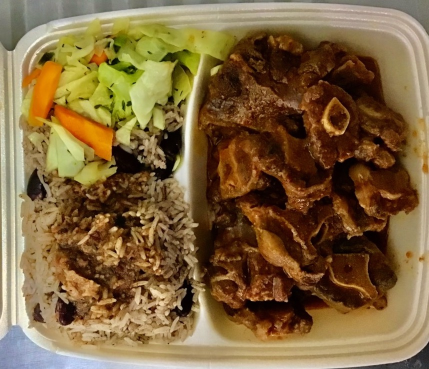 Grafenwohr restaurants also include caribbean grill Jamaican food like oxtails and red beans and rice