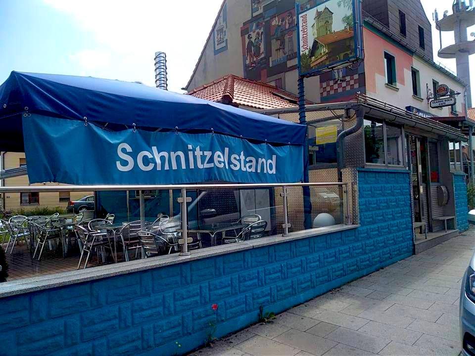 Grafenwohr restaurant Schnitzelstand front entrance