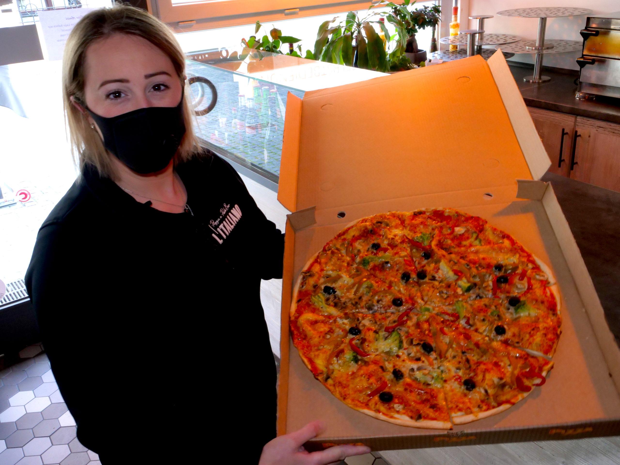 L'Italiano Pizza e Pasta Bar Pizza to go