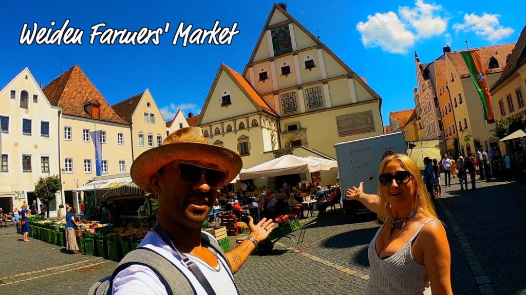 DTV and local weiden woman welcome you to the weiden farmers market