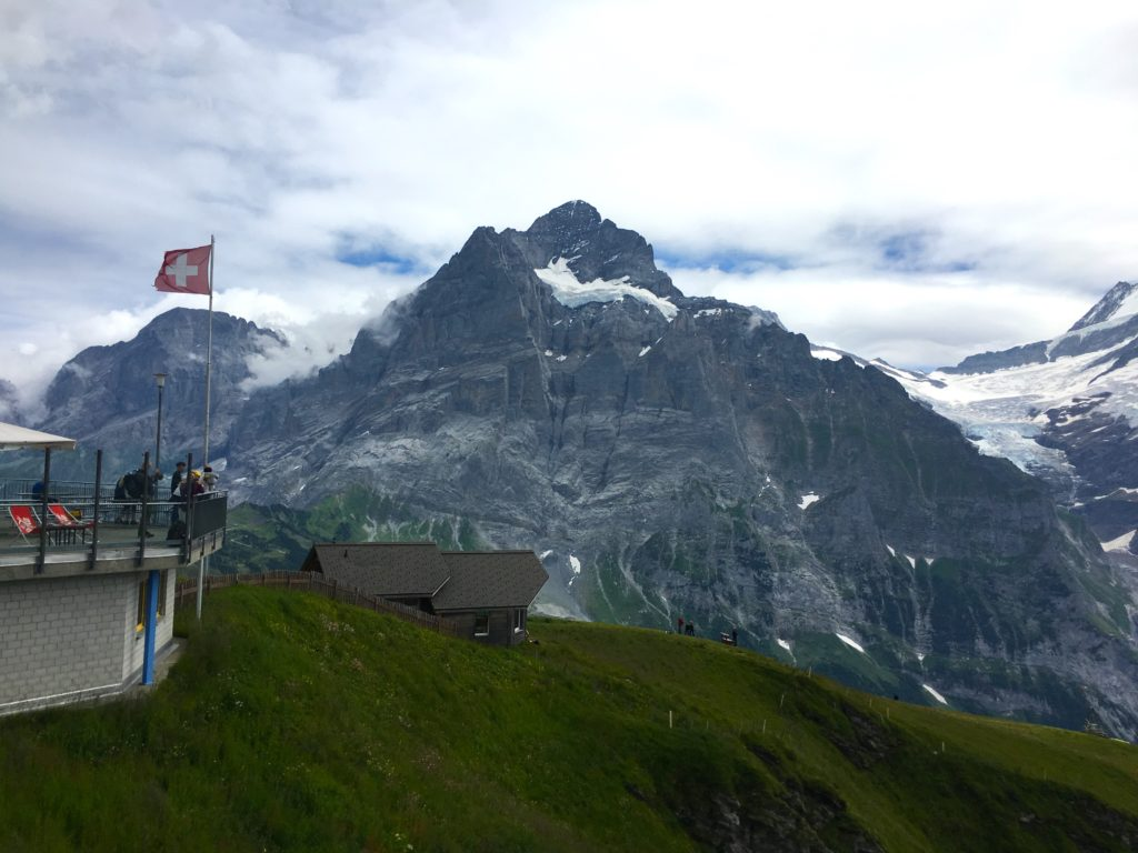 One of the top things to do in Grindelwald is taking the gondola up to the First Summit
