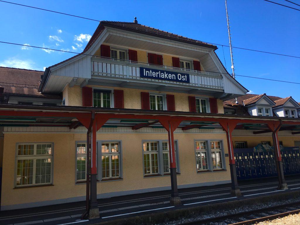 Interlaken Ost train station