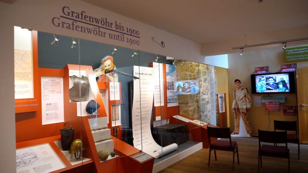 Inside the Grafenwoehr Culture History Museum