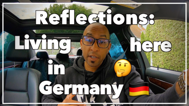 Reflections on living in germany