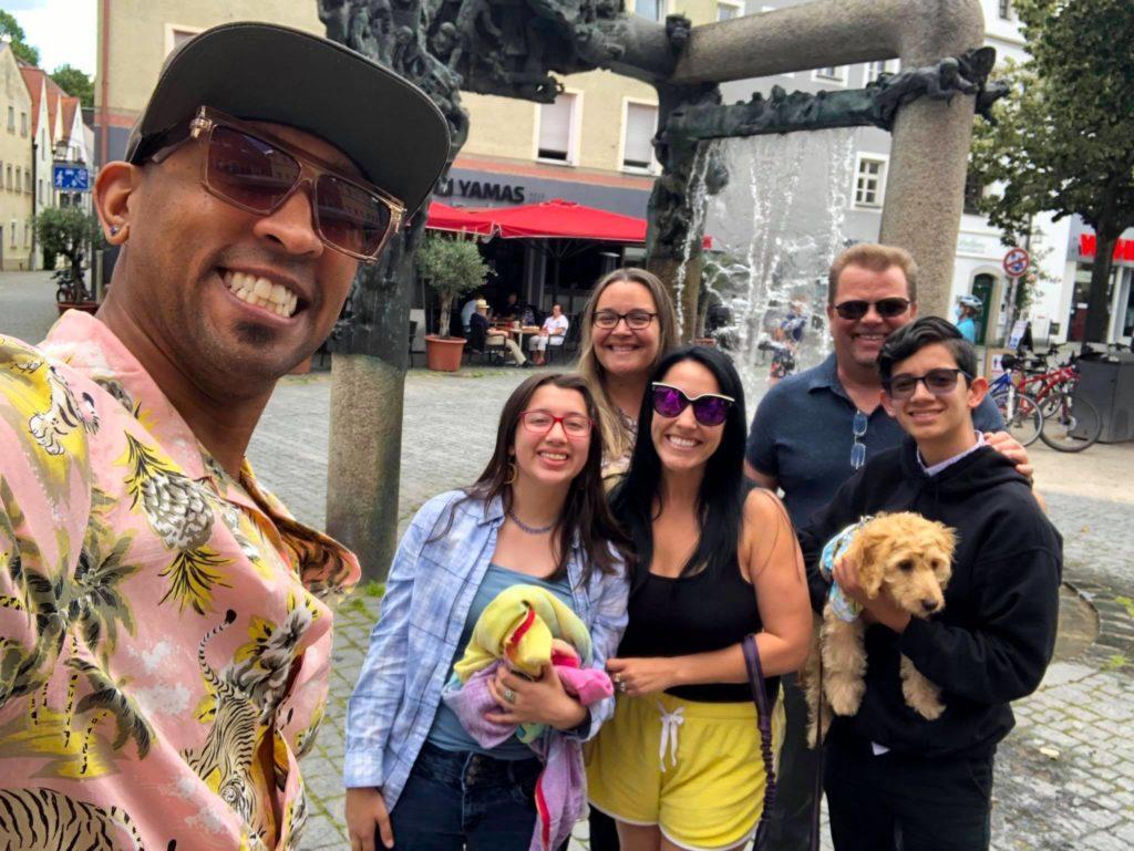 The Rozanski family downtown weiden germany