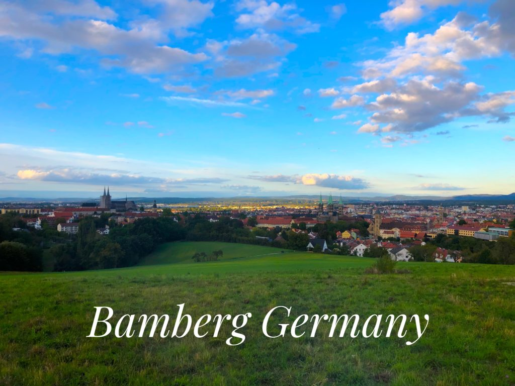 landscape view of the city of bamberg Germany. Easy day trip from Grafenwoehr Germany
