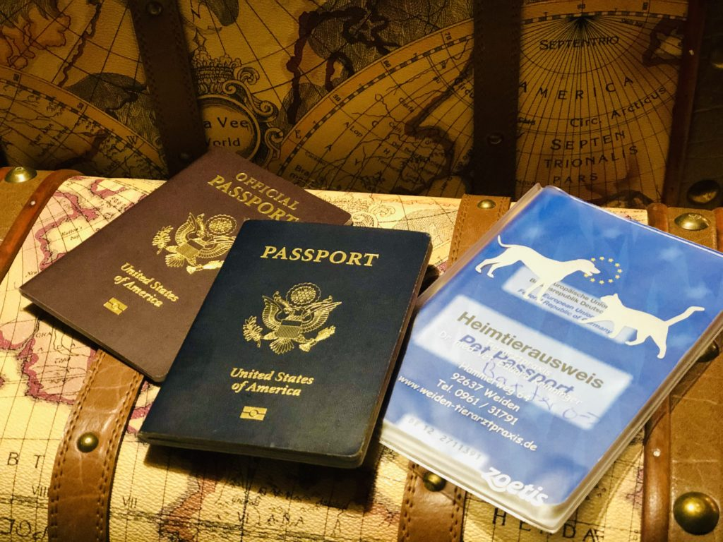 Military Official Passport, No-Fee Tourist Passport and Pet Passport