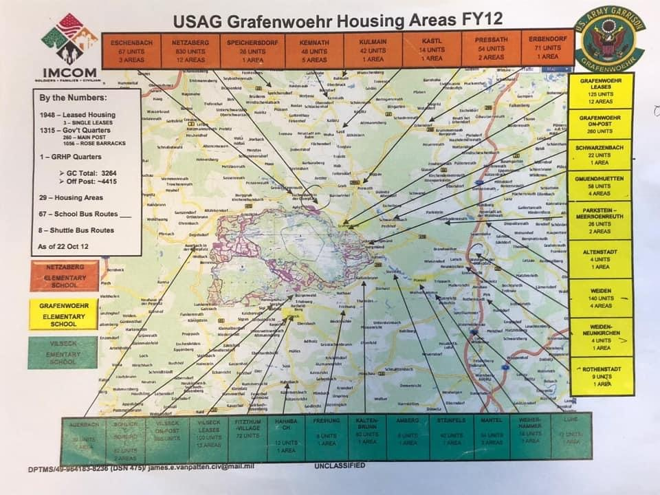 USAG grafenwoehr housing areas map