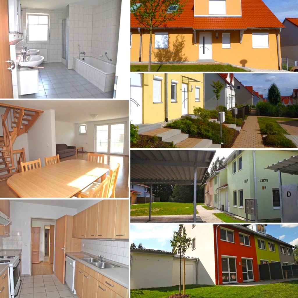 Variety of pictures inside and outside Grafenwoehr germany government housing