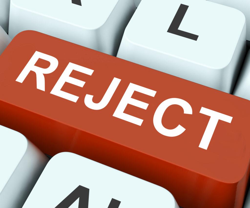 VAT Rejection
