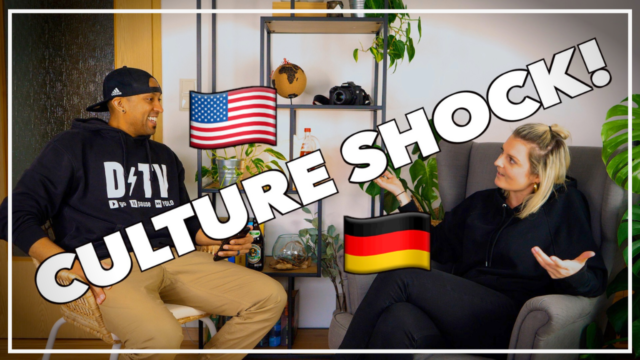 German and American talking about culture shock